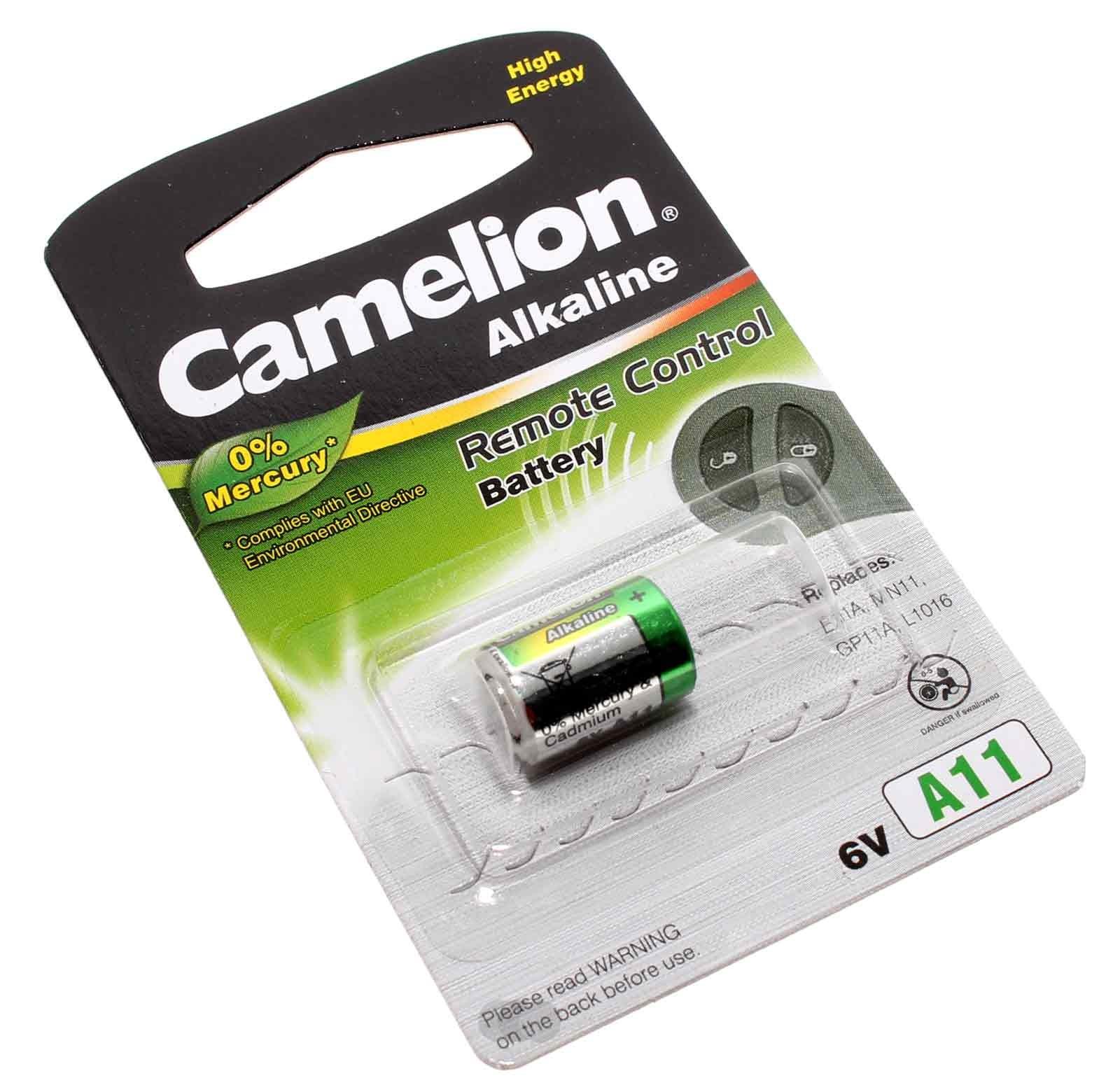 12V Camelion A11 Alkaline Remote Control Fernbedienung Batterie, 38mAh, wie LR11A, E11A, G11A, V11A