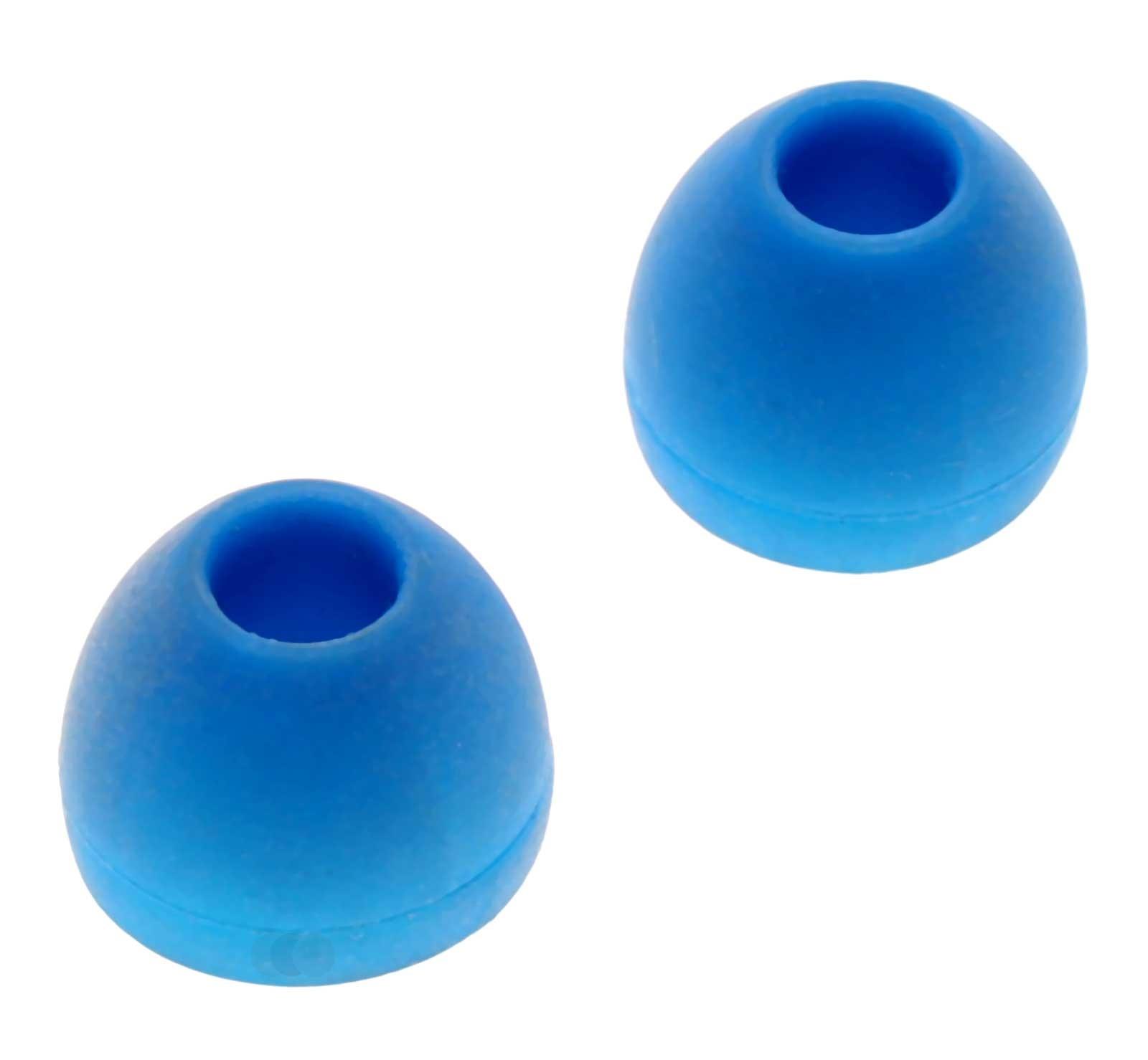 1 Paar Philips Ohrpolster, Ohrstöpsel für Headset, Kopfhörer, Grösse M, blau, 996580008852