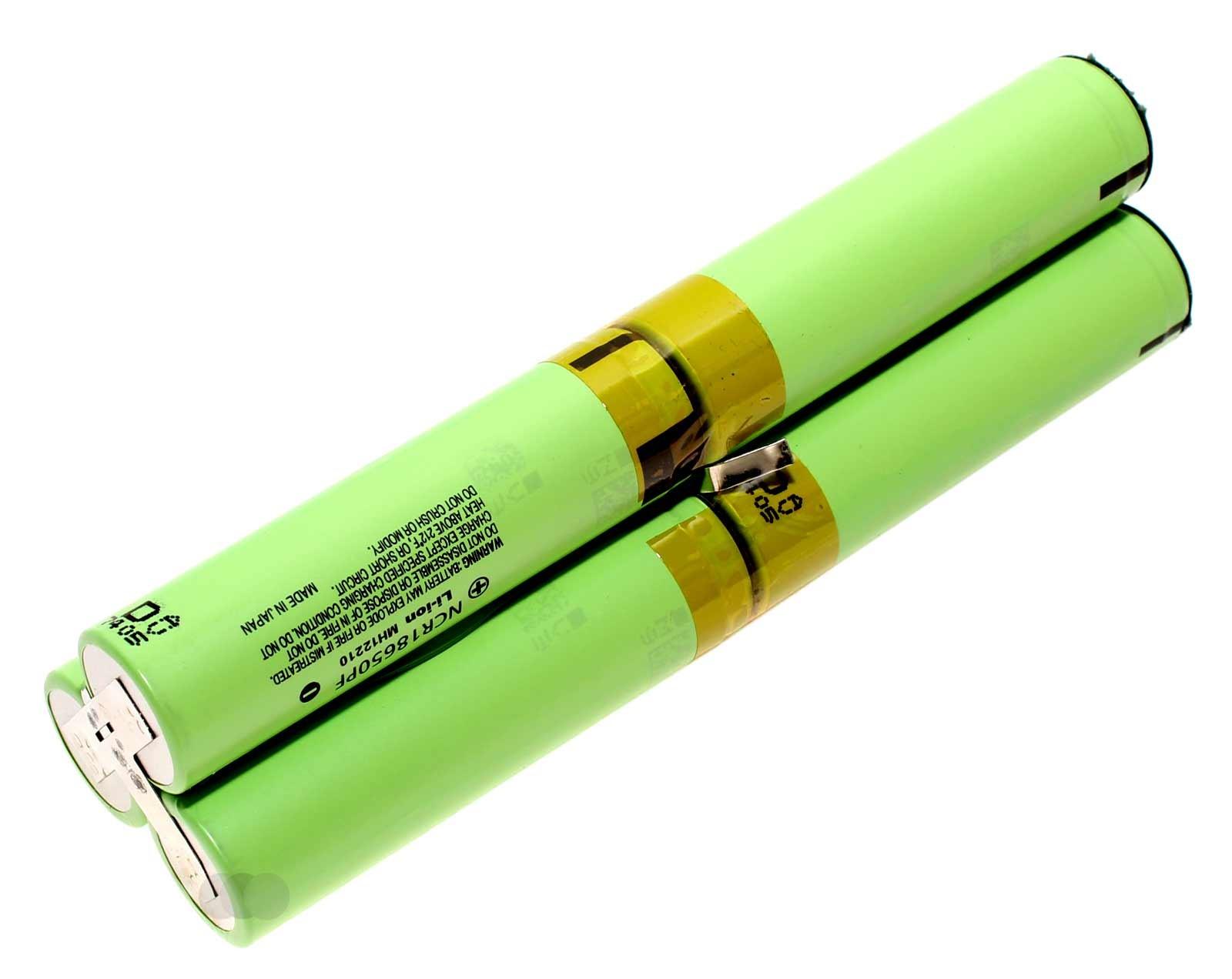 Akkupack bzw. neue Akku-Zellen für Olight SR 90 Intimidator LED Taschenlampe, 21,6V, 2900mAh