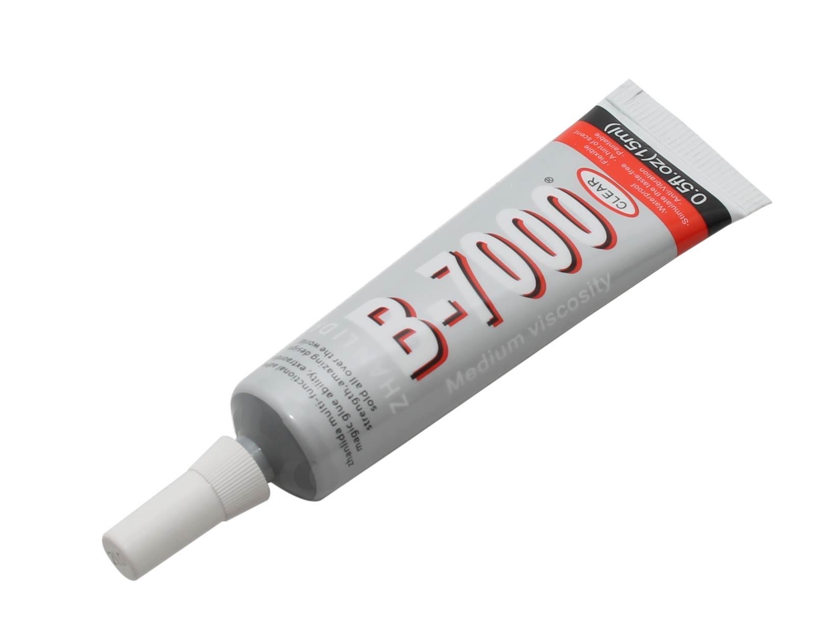 b-7000 15ml mehrzweck flüssig kleber in tube mit präzisions dosier