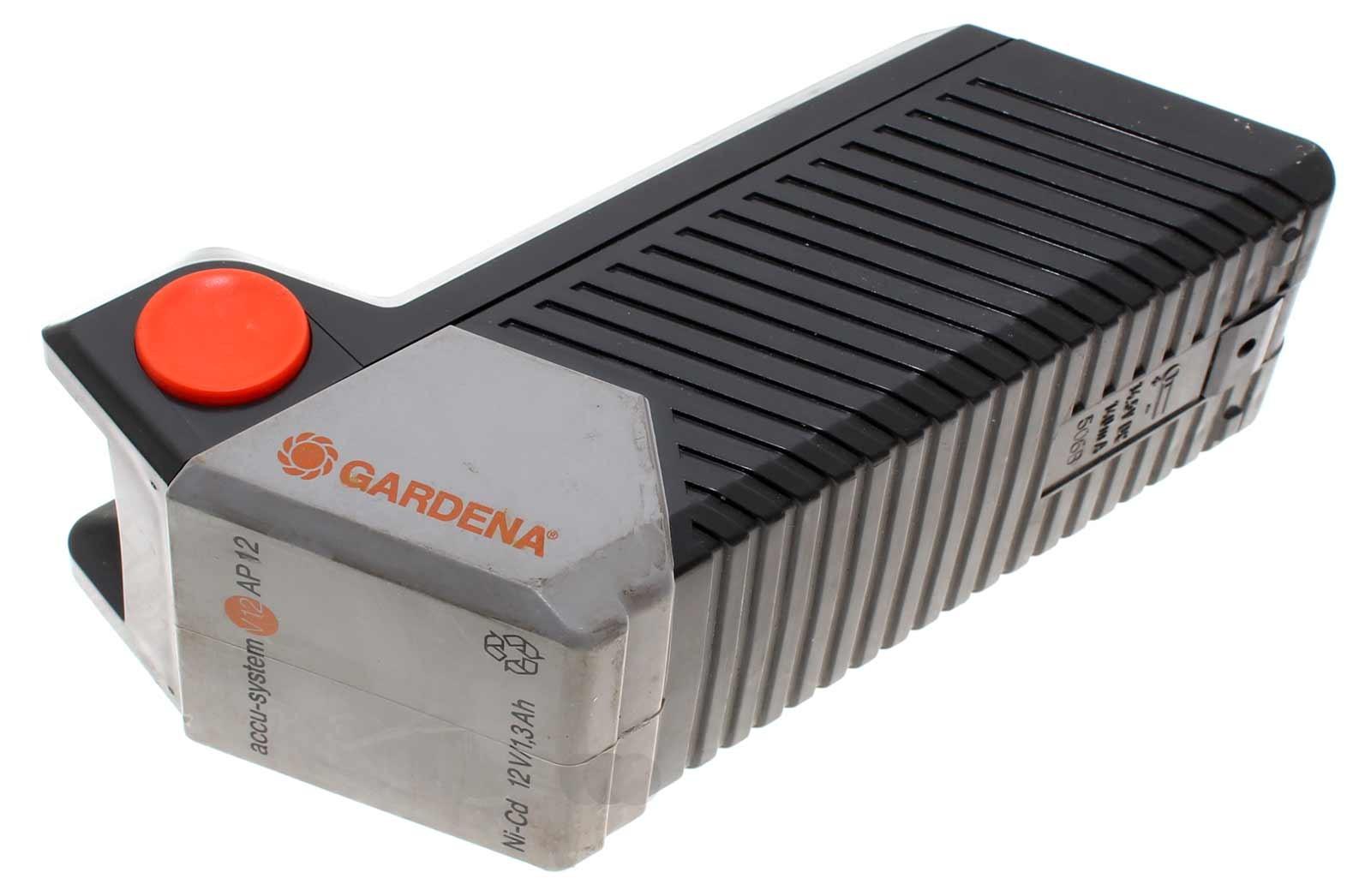 Gardena Akku 2110, Accu-System V12 AP12 mit 12 Volt und 3000mAh Kapazität. Gebrauchtes Gehäuse mit neuen Akku-Zellen