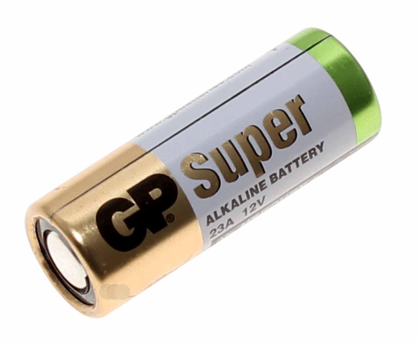 GP 12 Volt 23A Batterie A23 V23PX V23GA L1028 LRV08 MN21 G23A E23A V23A