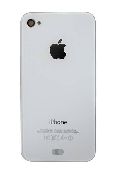 Ersatzcover für Apple iPhone 4 / 4G Weiß