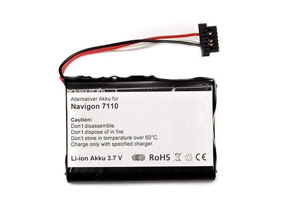 Akku für Navigon 7110, 7100 u.a.
