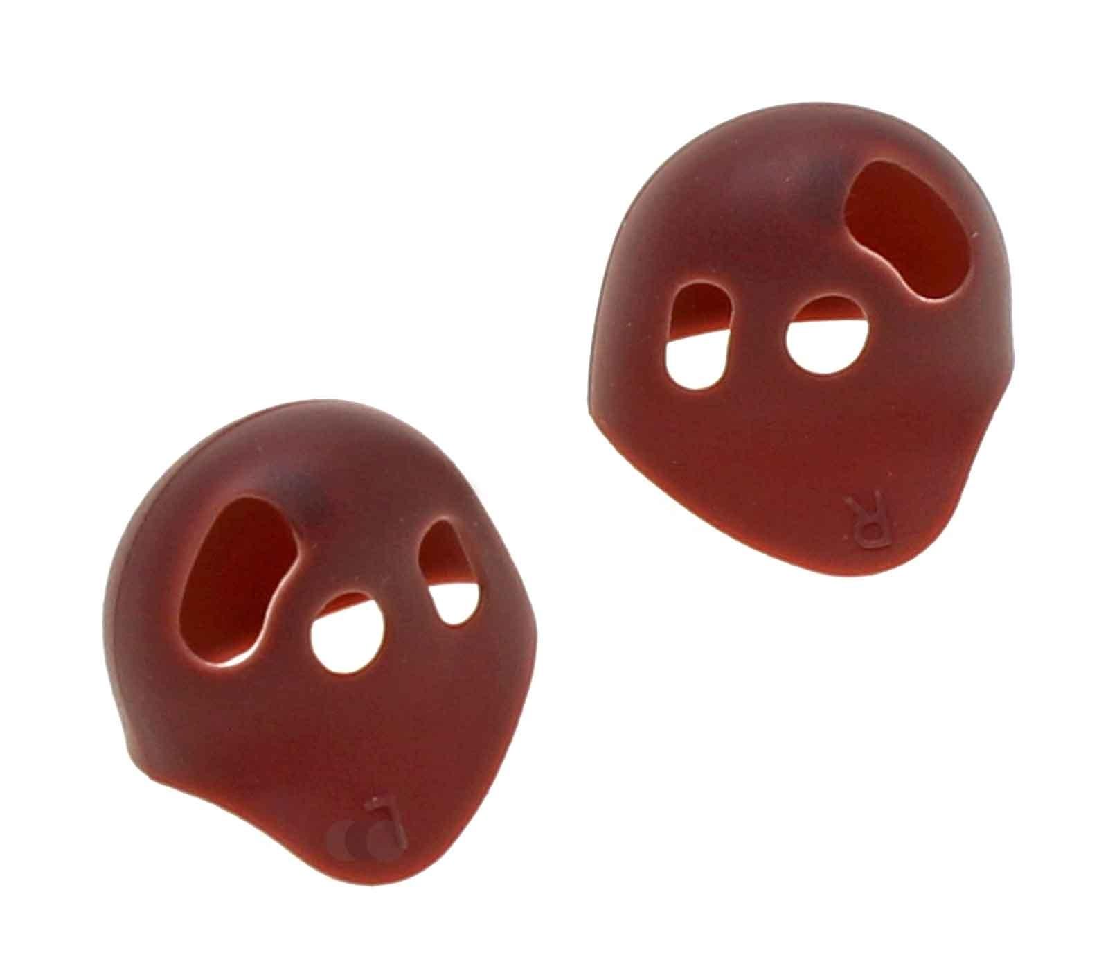 Original Ohrpolster Ohrstöpsel Rubber Tips für Samsung SM-R180 Galaxy Buds Live In-ear Kopfhörer, Bronze, GH81-19550C