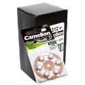 60x [10 x 6er Pack] Camelion Knopfzellen Batterie A312   PR41   A312-BP6   für Hörgeräte   1,4V   160mAh