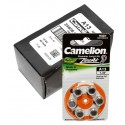 60x [10x 6er Pack] Camelion Knopfzelle (Batterie) A13 | PR48 | A13-BP6 | für Hörgeräte | 1,4V | 280mAh