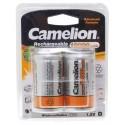 1,2V Camelion Akku Batterie Mono D HR20 | 10000mAh | 2er Pack