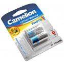 2er Pack Camelion CR123A Lithium Foto Batterie | 3V 1300mAh | wie 5018LC CR17345 EL123AP