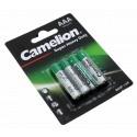 4er Pack Camelion Super Heavy Duty Micro Batterie AAA 1,5V 550mAh [R03P-BP4G] UM4 R03