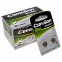 20x 2er Pack Camelion AG10 Alkaline 1,5V Knopfzelle Batterie | G10 LR1130 LR54 189 SR1130W GP89A 389 | 80mAh