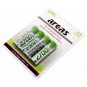 4er Pack Arcas HR06 Ni-MH Akku AA | Mignon | 2700mAh | 1,2V