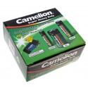 Camelion Batterie Spar-Set 40-tlg 24x AA Mignon 12x AAA Micro 4x C Baby + Taschenlampe