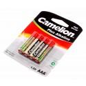 4er Pack Camelion Alkaline Batterien 1,5V AAA 1250mAh LR03-BP4 AM4 Micro MN2400 E92