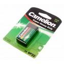 9V Camelion Super Heavy Duty Batterie 450mAh Block [6LR61] 6F22