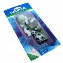 Original Nokia Xpress-on Cover für Nokia 3210 | SKR-12 Fussball Football grün | Oberschale Akkudeckel Tastatur