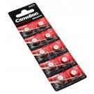 10x Camelion AG3 LR41 Alkaline Knopfzelle Batterie, 192, LR736, SR41W, GP92A, G3A, 3GA, 1,5V, 28mAh