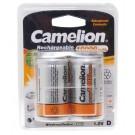 2 Stück Camelion NiMH Akku Batterie Mono D, HR20 mit 1,2 Volt und 10000mAh Kapazität