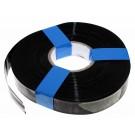 1 Meter Hart PVC Schrumpfschlauch, 32mm Flachmass, 0,08mm Wandstärke, schwarz