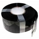 1 Meter Hart PVC Schrumpfschlauch, 85mm Flachmass, 0,08mm Wandstärke, schwarz