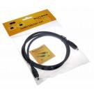 1m Delock FireWire Kabel 1394A 4 Pin Stecker auf 4 Pin Stecker, 82570