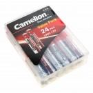 24x Camelion Plus Alkaline Batterie AAA Micro [LR03-PBH24] AM4, MN2400, E92, 1,5V, 1250mAh