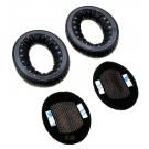 1 Paar Ohrpolster für BOSE Triport TP1, TP1A, Around-Ear AE1 Kopfhörer mit Vliesabdeckung, schwarz