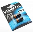 Zwei Duracell Ultra Lithium CR2 Foto Digital Kamera Batterie (Li-Mangandioxid) mit 3 Volt und 800mAh im 2er Blister
