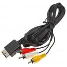3-Cinch RCA AV-Kabel, TV Anschlusskabel für Sony PlayStation PS1 Slim, PS2 Slim, PS3 Slim