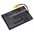 Alternativer Lithium-Polymer Akku für Cowon M2 (16Gb und 32 Gb) MP3 Player mit 3,7 Volt und 1300mAh Kapazität, ersetzt den original Akku P140409301 und PR-464465N