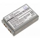 Alternativer Li-Ion Akku für Hand Terminal, Barcode Scanner Casio DT-X7, DT-X7M10E, DT-X7M10R, mit 3,7 Volt und 1880mAh Kapazität, ersetzt den original Akku HA-F21LBAT