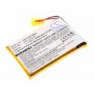 Alternativer Akku für Plantronics K100, SONY MDR-DS6500 und MDR-XB950BT mit 3,7 Volt und 650mAh Kapazität.