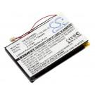 Alternativer Akku für Sony NW-A2000 und NW-HD3 Festplatten MP3 Player mit 3,7 Volt und 750mAh Kapazität. Ersetzt Akku Modelle 1-756-493-12, 5427B und LIS1317HNP.