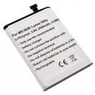 Alternativer Lithium-Polymer Akku für Microsoft, Nokia Lumia 929 / 930 Handy, Smartphone mit 3,8 Volt und 2500mAh Kapazität, ersetzt den original Akku BV- 5QW