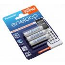 3er Pack Panasonic eneloop HR03 AAA Micro Akku NiMH | BK-4MCCE/3DE | 1,2V 750mAh
