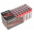 40 Stück Camelion LR03 [LR03-SP40HFB] AAA Micro Plus Alkaline Batterien mit 1,5 Volt und 1250mAh Kapazität