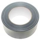 50m Gaffer Tape, grau / silber, 50mm, Panzertape Gaffa Gafferband Gewebeband