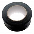 50m schwarzes Gaffer Tape mit 50mm Breite auch bekannt als Panzertape, Gaffa, Gafferband, Gaffertape, Panzerband, Gewebeband