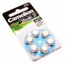 Camelion Knopfzelle (Batterie) A675, PR41, [A675-BP6], für Hörgeräte, hearing aid,  appareils auditifs, Zink-Luft mit 1,4V und 620mAh im 6er Pack