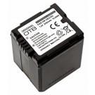 Alternativer Lithium-Ionen Akku für Panasonic Camcorder, Digital Kamera mit 7,4 Volt und 2200mAh Kapazität, ersetzt original Akku VW-VBG260.