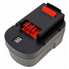 Akku für Black & Decker BDGL14K2, CP14K, FS1402D, HP14K, SX7000 u.a., ersetzt 499936-35, A14, HPB14 u.a., 14,4V, 3300mAh