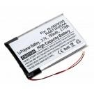 Akku für Samsung YP-T9 MP3 Player, ersetzt 6L0503035, RA611E02AA, 3,7V, 750mA