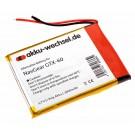 Akku passend für NavGear GTX-60 DVB-T / A505068G / PX-8640-675