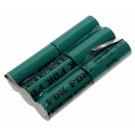Akku Pack Ni-MH für Bosch Funkgerät AKK1135L-NH (8 697 327 677) mit 7,2 Volt und 2150mAh Kapazität