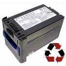 Akkuwechsel bei HENSEL Wechselschublade 1497 mit Bleigel-Akku 12V 12Ah für Porty Premium Plus Blitzanlage