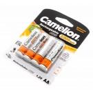 4er Pack Camelion Ni-Mh Akku AA 1,2V 2300mAh [NH-AA2300BP4] HR6 Mignon Fernbedienung Taschenlampe