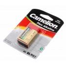 Camelion Plus Alkaline Block Batterie 9V, 700mAh, 6LR61, 6LF22, MN1604, 522, Fernbedienung