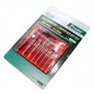 Inbus Sechskant Schlüssel Satz Mini 7 teilig 0,7 0,9 1,3 1,5 2 2,5 3mm, Pro´sKit 8PK-022