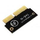 m2 PCI-e AHCI SSD Adapter Karte für MacBook Air A1465 A1466 Pro A1398 A1502 A1419 NGFF zu MD711 MD712