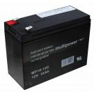 Multipower MP10-12C Blei Gel Akku AGM, zyklenfest, 6,3mm Flachstecker, 12V, 10Ah